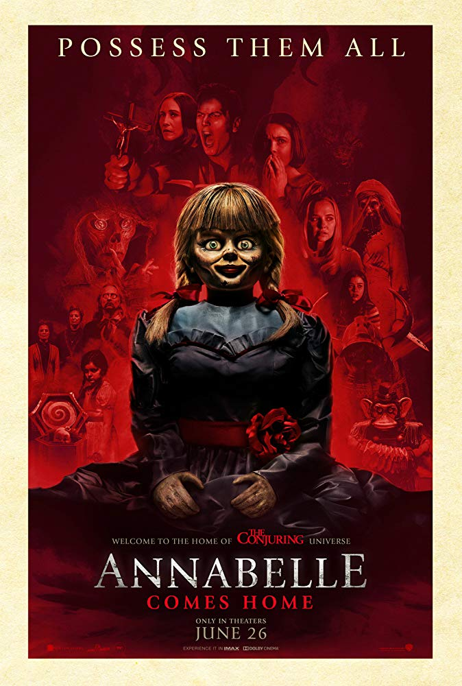 Full Movie Annabelle Comes Home 2019