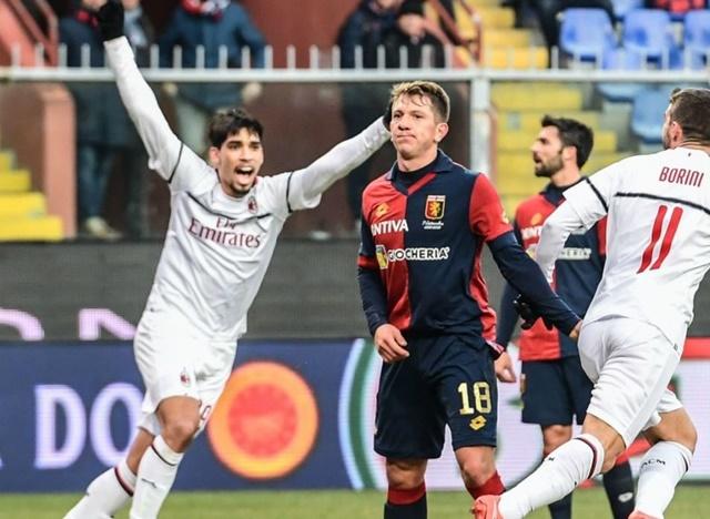 Genoa Vs Milan - IGdazn_bra