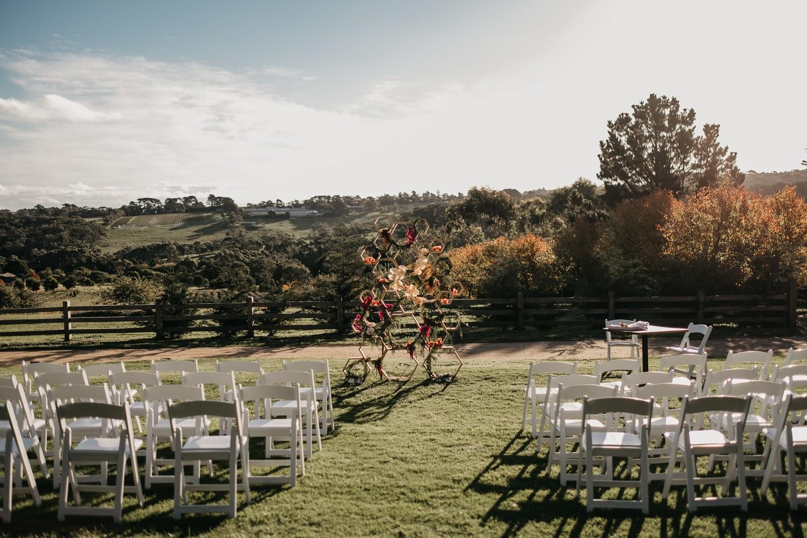 MORNINGTON PENINSULA FARM VENUE MELBOURNE WEDDINGS