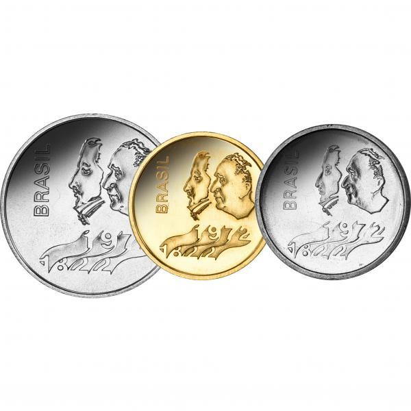 SESQUICENTENÁRIO – O dinheiro comemorativo dos 150 anos da independência (1822-1972)