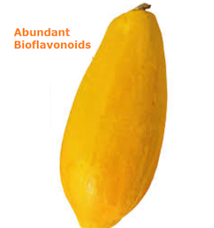 Health Benefits of Papaya - Abundant Bioflavonoids