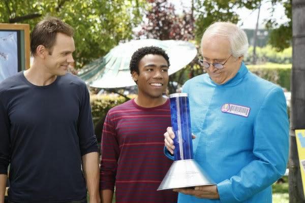 COMMUNITY - Season 2 - The Part-Time Critic