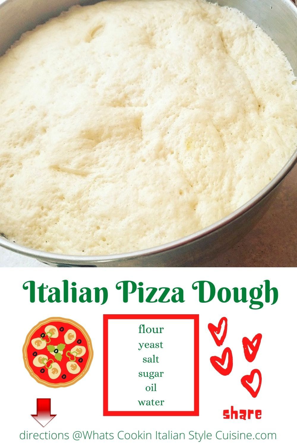 pin for later pizza dough