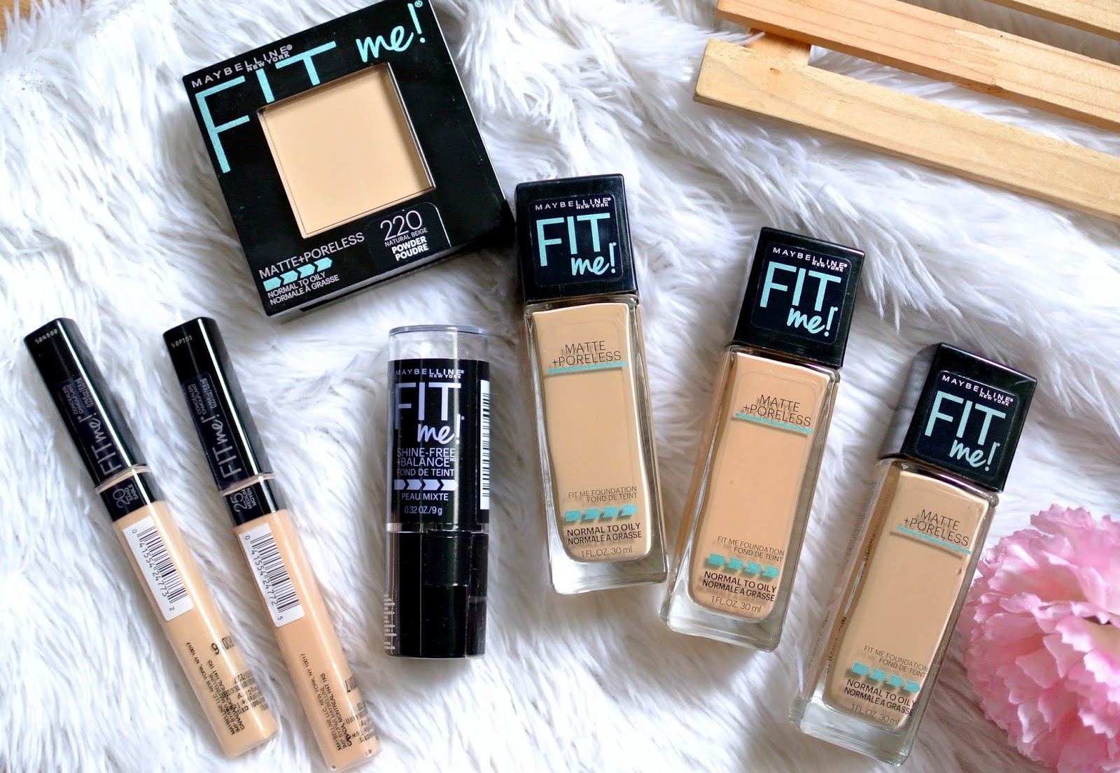 Makeuplove Beauty Fashion And Lifestyle Maybelline Fitme Is Fit Me Concealer Medium Matte Poreless Liquid Foundation The Stick Pressed Powder