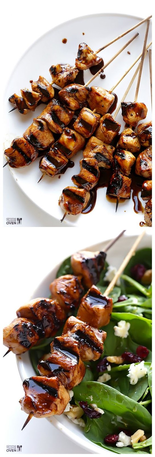 ASY BALSAMIC CHICKEN SKEWERS + BIG GIVEAWAY!