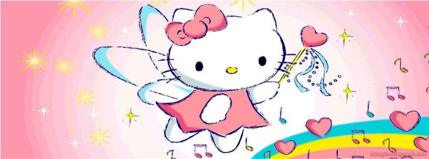 Foto Sampul Facebook Hello Kitty Terbaru   Bangiz