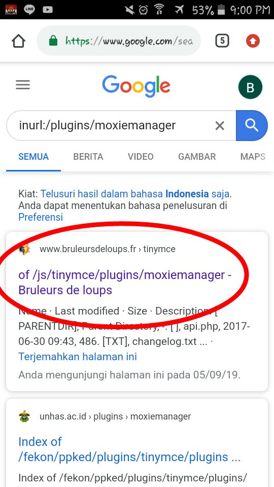 Deface POC Moxiemanager
