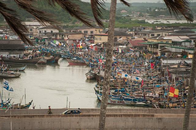 Vedere din Elmina Castle, Ghana