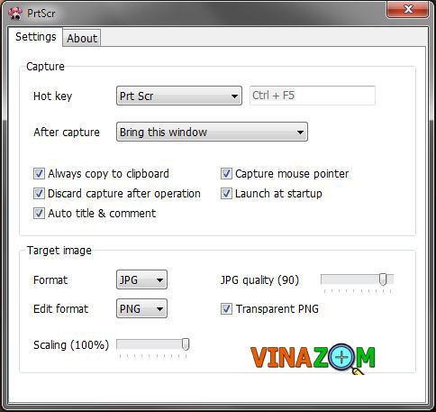 PrtScr phần mềm chụp ảnh màn hình máy tính