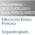 PLAN Y PROGRAMAS DE ESTUDIO 2011 2° PRIMARIA