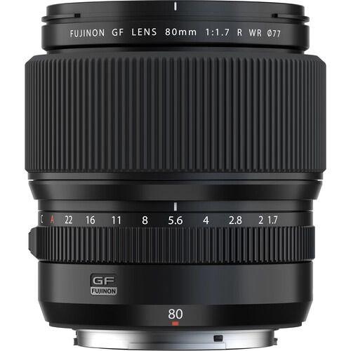Fujinon GF 80mm f/1.7 R WR
