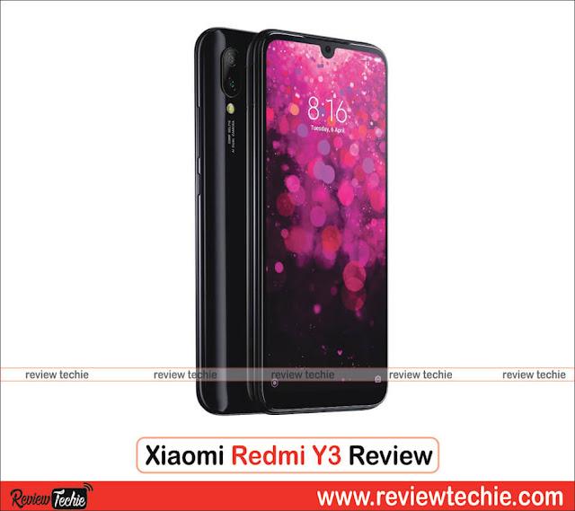 Xiaomi Redmi Y3 Review 2019