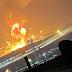 اخبار السعودية: شاهد لحظة سقوط صاروخ حوثي في الرياض انفجار الرياض