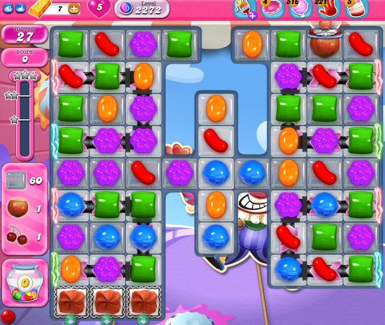 Candy Crush Saga level 2272