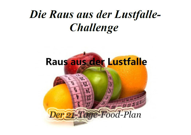 challenge, silke rosenbusch, lustfalle, food plan, review