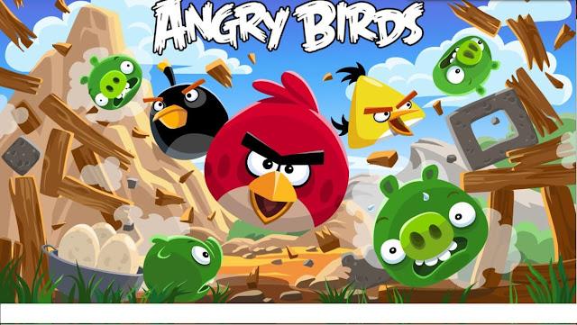 تحميل لعبة الطيور الغاضبة angry birds للكمبيوتر من ميديا فاير