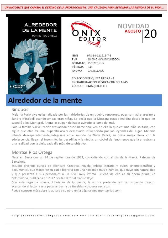 NOVEDADES EDITORIALES: ALREDEDOR DE LA MENTE, de Montse Ríos