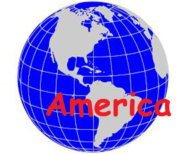 mewakili ratusan Negara yang ada di dunia yang letaknya tersebar Negara-negara di Benua Amerika, lengkap dengan Ibukotanya