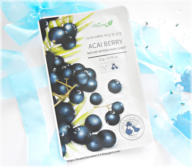 Always21 Nature Refresh Mask Sheet Acai Berry