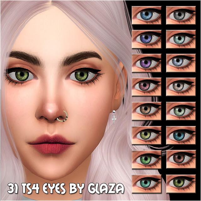 31 ts4 eyes by glaza
