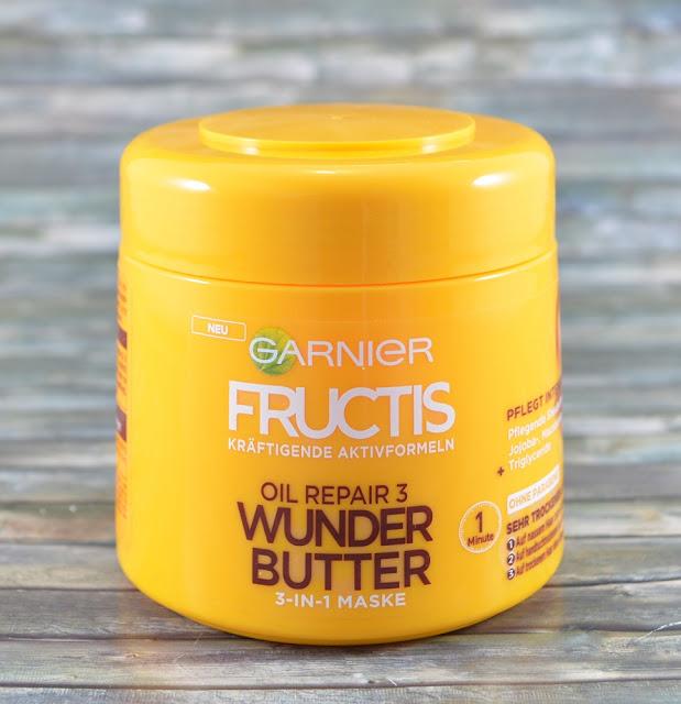 Garnier Fructis Wunder Butter 3-in-1 Maske