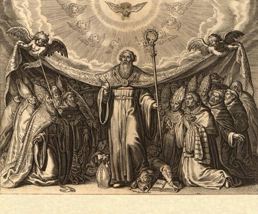 San Agustín, luz de Papas, Obispos y Doctores