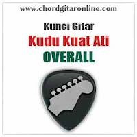 Chord Kunci Gitar Overall Kudu Kuat Ati