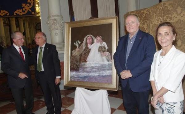La Virgen del Carmen del Perchel protagoniza el cartel de las hermandades de gloria de Málaga