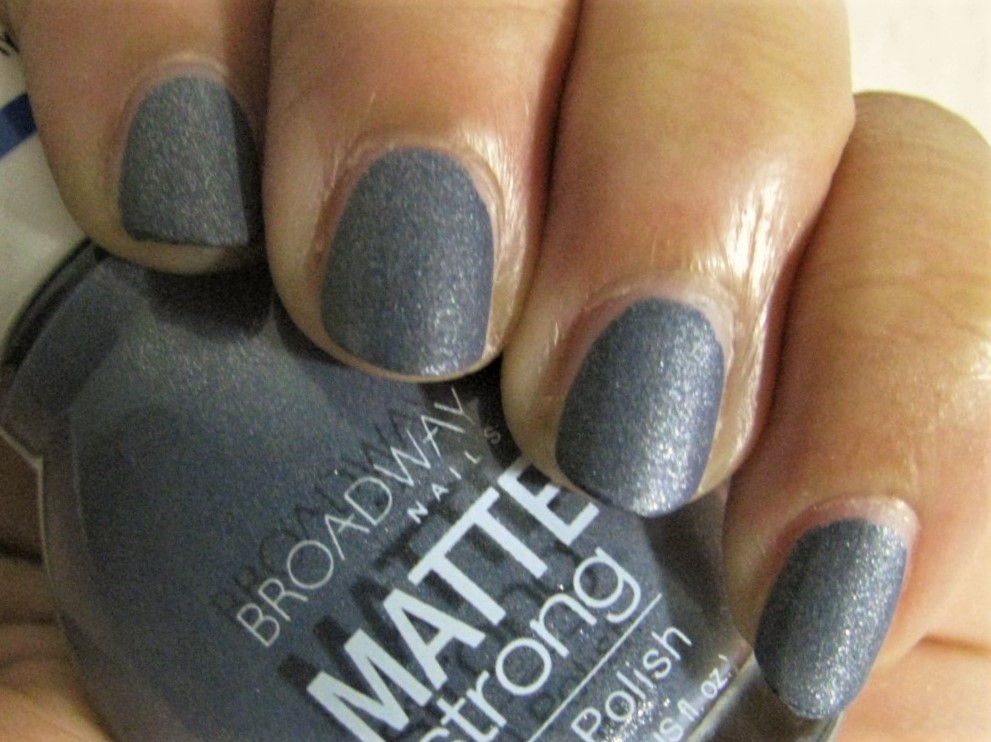 The Super Secret Nail Blog: Broadway Nails Matte Strong Review