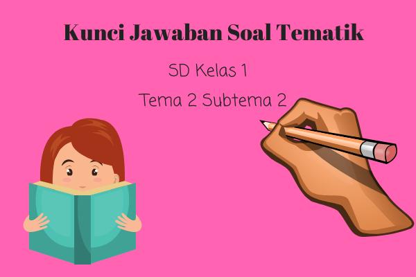 Kunci Jawaban Tematik SD Kelas 1 Tema 2 Subtema 2