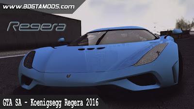 GTA SA - Koenigsegg Regera 2016