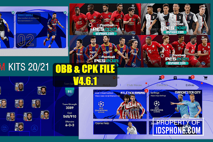 PATCH PES 2020 UCL | IDSPHONE PATCH V4.6.1 OBB+CPK