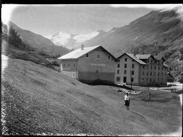 Gasthof Edelweiss in Obergurgl in Tirol - vermutlich vor 1930