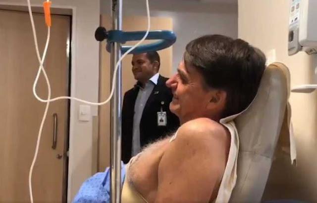 Após febre, quadro de Bolsonaro melhora e ele volta a ingerir líquidos