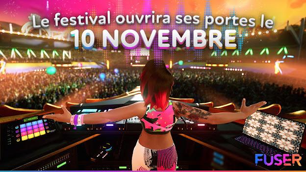 FUSER vous ambiancera dès le 10 novembre !