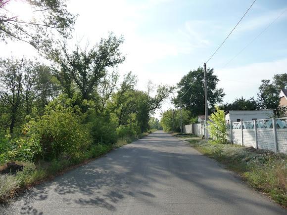 Авдеевка. Пустынные улицы города