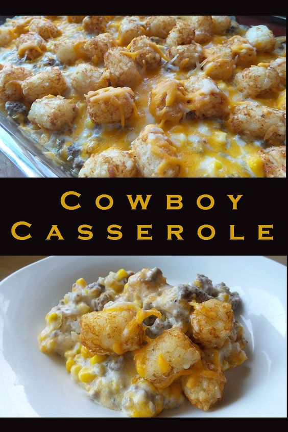 Cowboy Casserole Recipe – A Family Favorite #recipes #dinnerrecipes #easydinnerrecipes #easydinnerrecipesforfamily #quickdinnerrecipes #food #foodporn #healthy #yummy #instafood #foodie #delicious #dinner #breakfast #dessert #lunch #vegan #cake #eatclean #homemade #diet #healthyfood #cleaneating #foodstagram