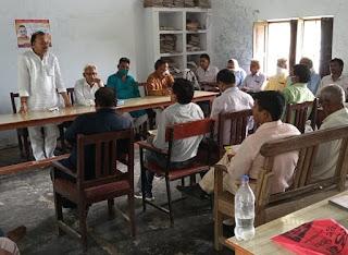 रमेश सिंह ने तेज किया जनसम्पर्क, जिले के आधा दर्जन से अधिक इण्टर कालेजों का किया दौरा   #NayaSabera