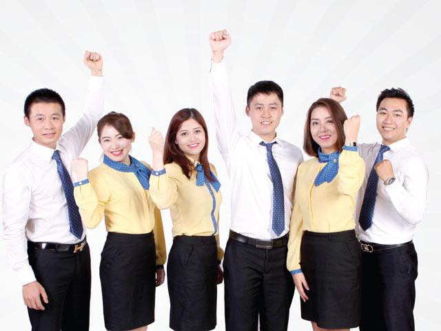 Đồng phục giúp thu hẹp khoảng cách giữa các thành viên trong công ty