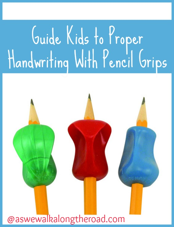 Pencil grips to improve handwriting