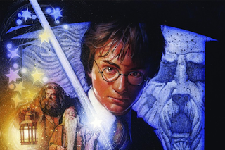 Unpublished Harry Potter artwork by Drew Struzan
