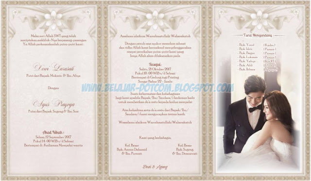 Download Desain Undangan Pernikahan Siap Edit ERBA 88140