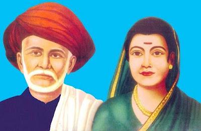 Jyoti Rao and Savitri Bai Phule
