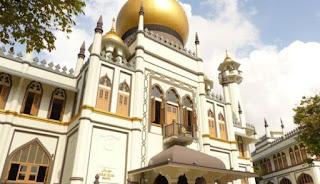 Masjid Sultan di Singapura.