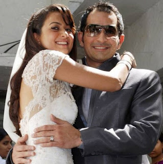 Amrita married with the businessman Shakil Ladakh in 2009