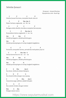 chord lagu sebelas januari 11 januari band gigi