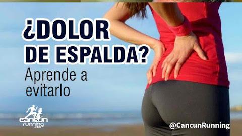 dolor de espalda al correr