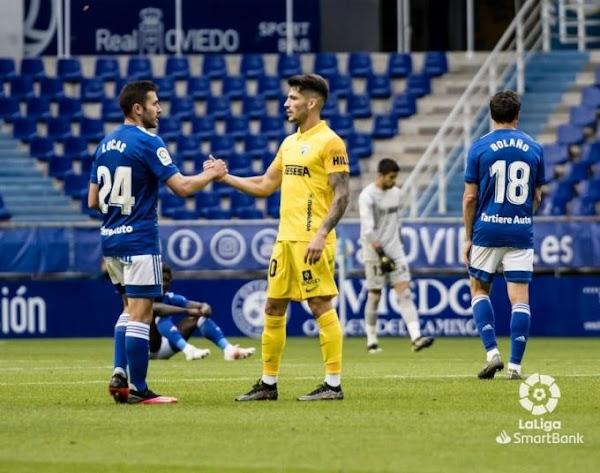 El Málaga confirma el parte médico de Caye Quintana