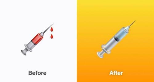 IOS 14.5 promotes vaccines through emojis