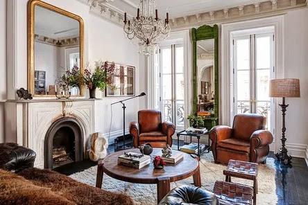 Home interior english style